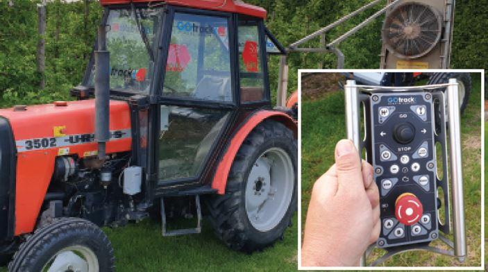 автономные тракторы