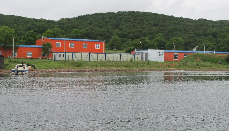 центр марикультуры на острове Попова
