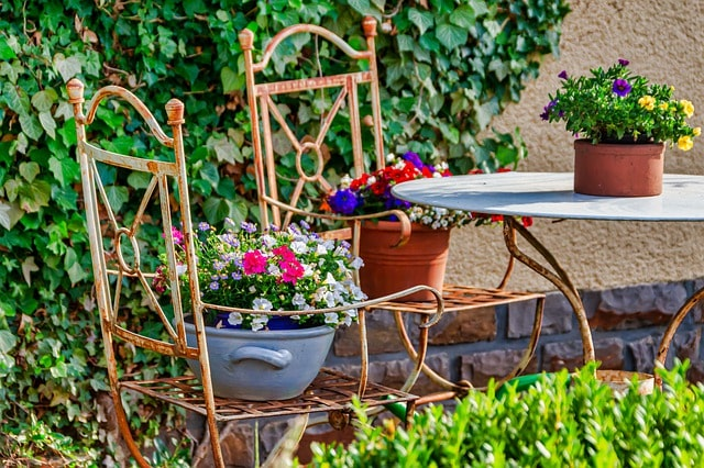 газеты в саду для цветов
