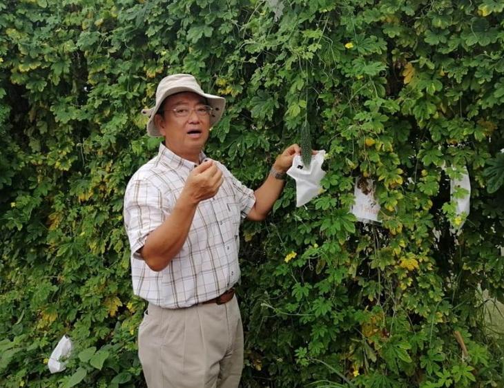 японский фермер