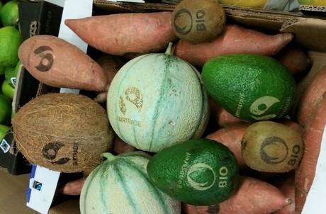 лазерная маркировка овощей