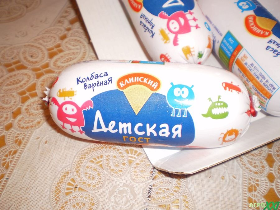 детская безопасная колбаса