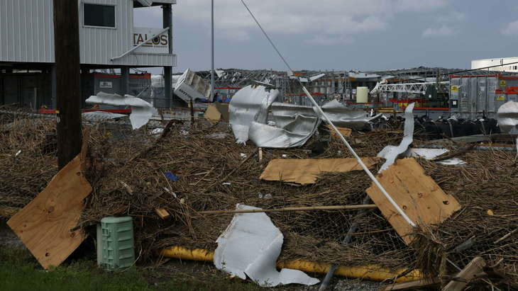 Ураган Ида нарушил хрупкий баланс на рынке зерна