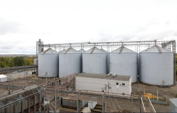 Крупнейший элеватор на 130 тысяч тонн зерна заработал в Нижегородской области