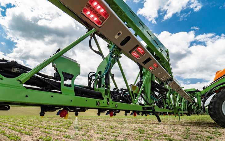 Amazone разработала датчик скорости ветра для более эффективного внесения удобрений