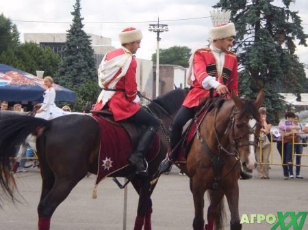 кавалеристы на ВВЦ