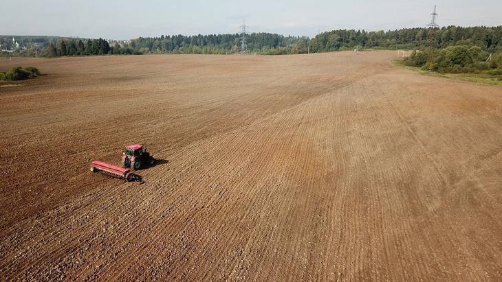 подготовка почвы под выращивание сена